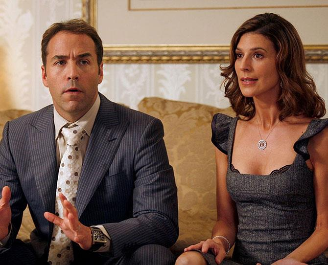 The non-porn watchers out there will probably best know Perrey Reeves as Ari Gold's wife in *Entourage*. If that role wasn't raunchy enough (she was often in her underwear) her earlier career was even more X-rated, with a role on the soft-core porn series, *Red Shoe Diaries*.