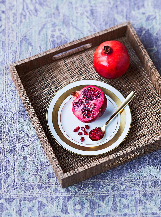 **Pomegranate Juice:** Researchers from Queen Margaret University in Edinburgh found drinking a glass of pomegranate juice every day increased testosterone levels by up to 30% - which makes both sexes feel frisky.