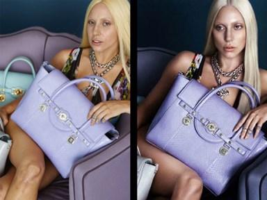 More Gaga Photoshop drama