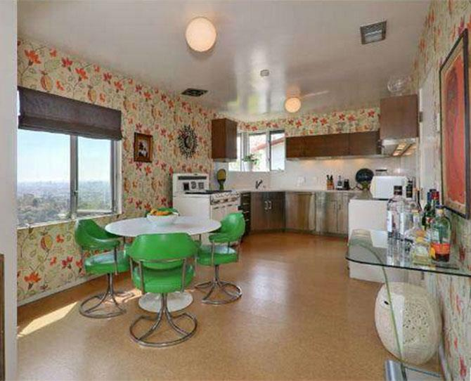 They have a retro kitchen.