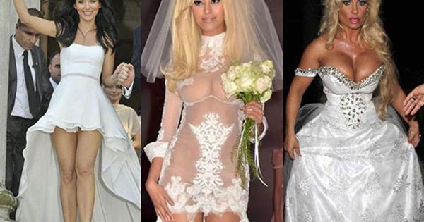 Most revealing wedding dresses | Cosmopolitan Australia