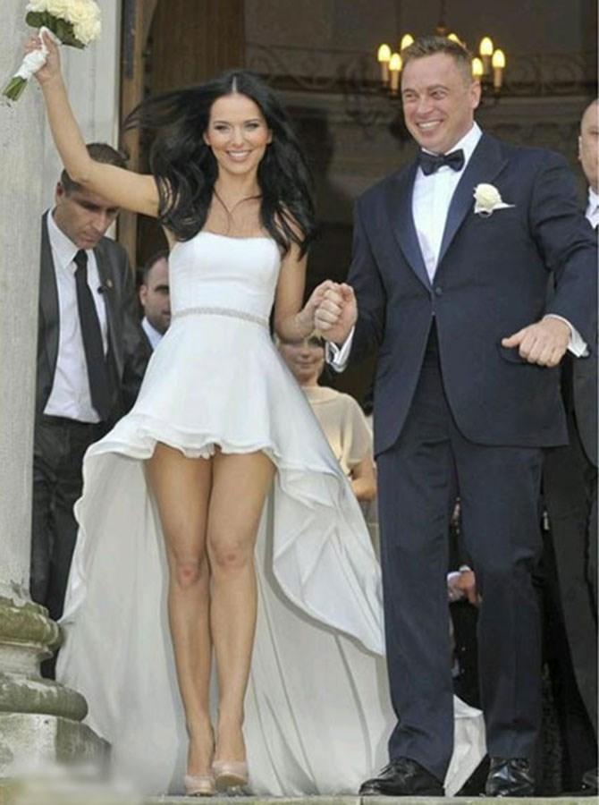 Mullet hems are bad enough on regular dresses, but your wedding dress?! Eek!