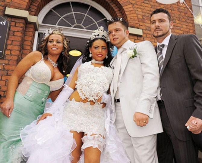 *My Teeny, Tiny Gypsy Wedding Dress*. Coming soon to a TV near you.