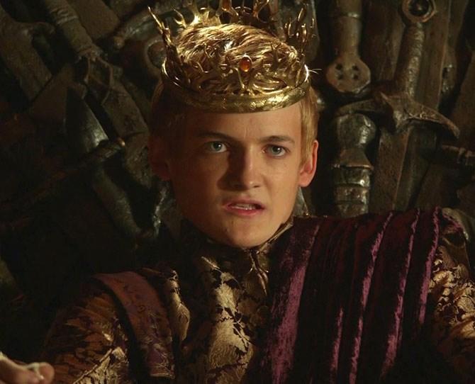 **25. Joffrey Baratheon** – THE WORST PERSON EVER, IN THE WORLD.