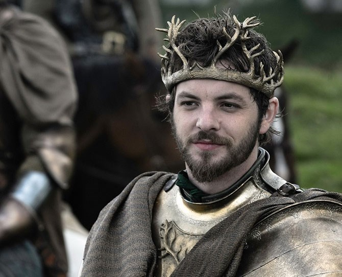 **13. Renly Baratheon** – Gave being King a red hot go, so he's not afraid to try new things (but… only into dudes).