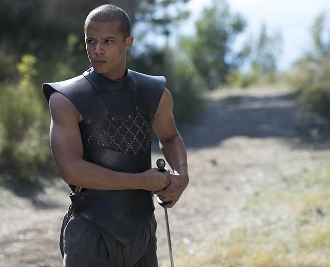 **11. Grey Worm** – The strong, silent type.
