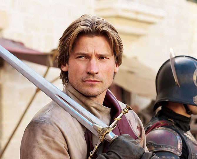 **10. Jaime Lannister** – Could've been a contender, except that he still wants to bang his sister.