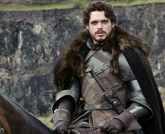**9. Robb Stark** – Too big for his boots, but a decent man off the battlefield.