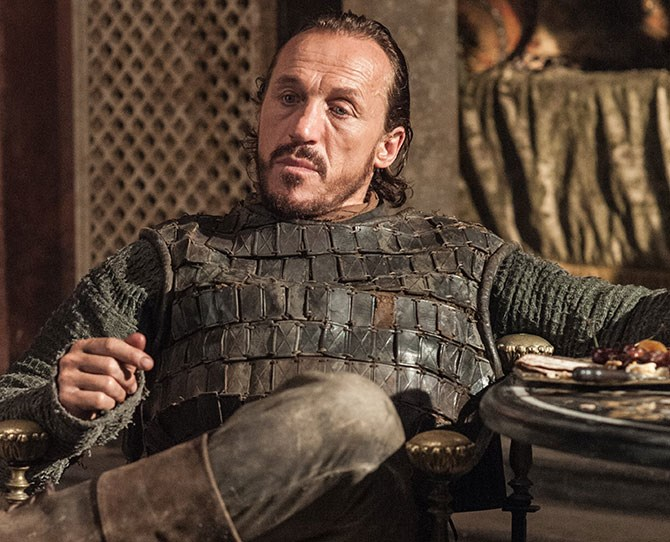 **8. Bronn** – The ultimate conquest, if you could ever tie him down.