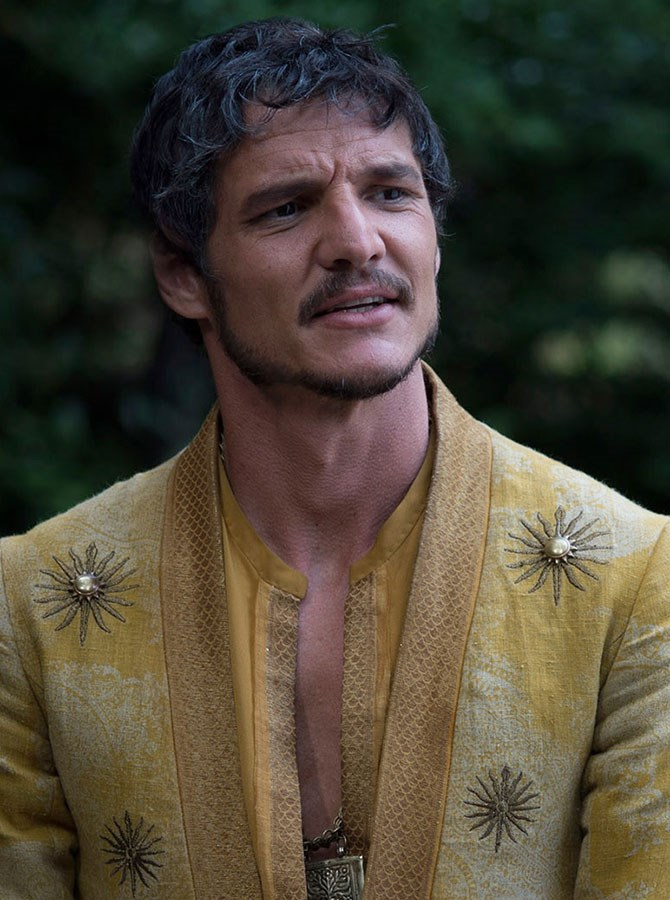 **5. Prince Oberyn Martell** – Kinky, but a sweetheart deep down (plus an enticing secret agenda).