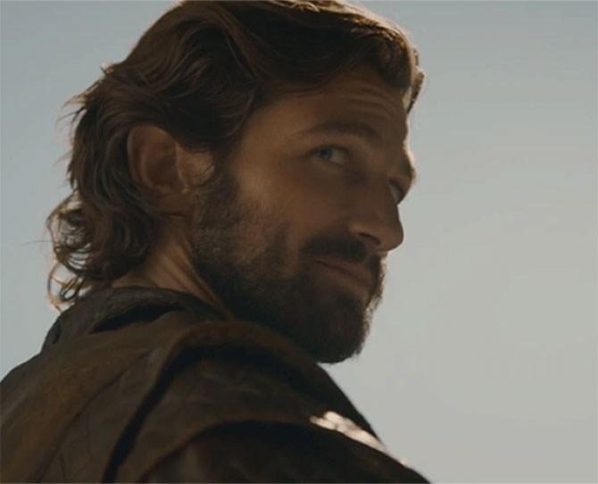 **3. Daario Naharis** – Reckless, a bit agro but sexy as hell.