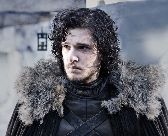 **2. Jon Snow** – Smoking hot, but terrible luck with the ladies (which is great news for the woman he eventually meets who can stand to put up with his moods). Also, knows nothing.