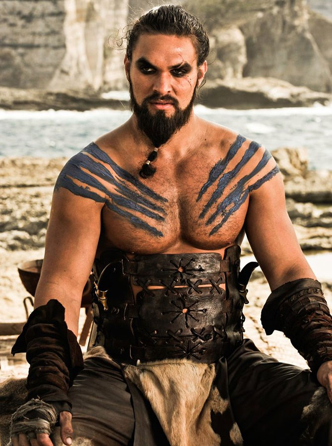**1. Khal Drogo** – Would make you the moon of his life, his sun and stars. Great if you like horses and men with ponytails.