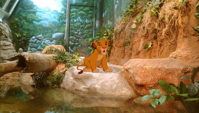 Simba finds himself in a small zoo enclosure, in a pretty unfair version of *The Circle of Life*.