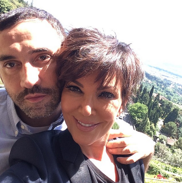 Posted by: Kris Jenner ...and we can't forget the designer of Kim's Givenchy wedding gown, Riccardo Tisci.