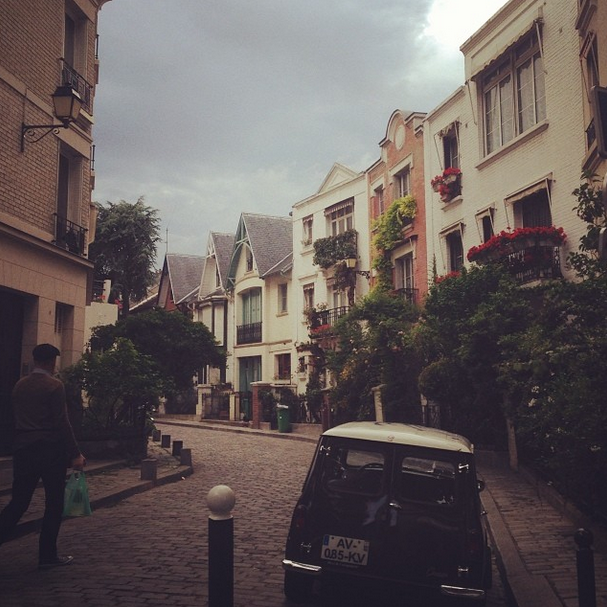 Posted by: Leah Jenner Also in attendance were Kim's step-brother and his wife, Brandon and Leah Jenner. Leah posted this sweet snap of her favourite street in Paris once they'd returned from the wedding.