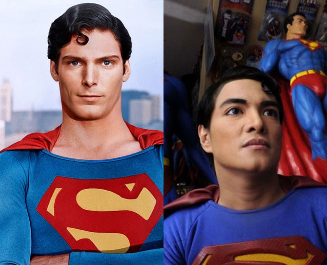 35-year-old Herbert Chavez puts the super in superfan, having gone through chin augmentation, a nose job, silicone injections to his lips and thigh implants in his quest to look like comic book hero Superman. His home, in the Phillippines, is literally a shrine to the character.