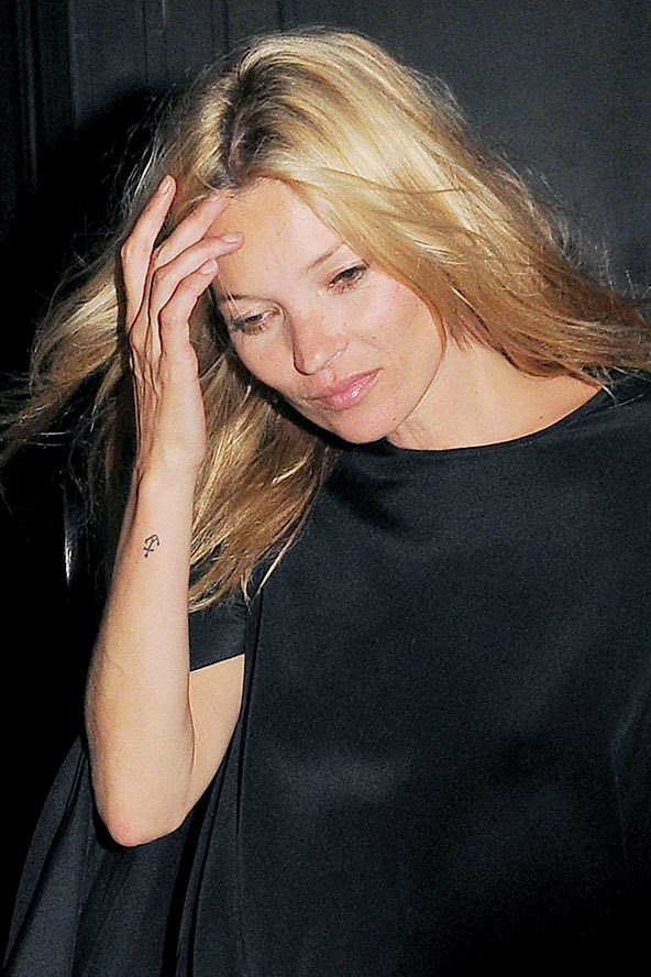Kate Moss' tattoos have inspired plenty of copycat jobs around the world. Even Rita Ora got an anchor similar to Kate's.