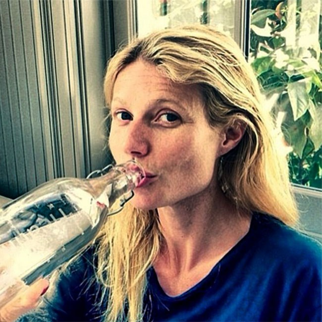 Gwyneth Paltrow swears her perfect skin can be put down to her unwavering devotion to cardiovascular exercises and swishing coconut water around in her mouth for 20 minutes. Right then.