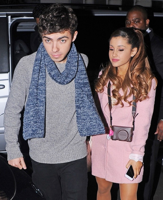 The love between her and Nathan Sykes may be gone, but our love for her ponytail will never die.
