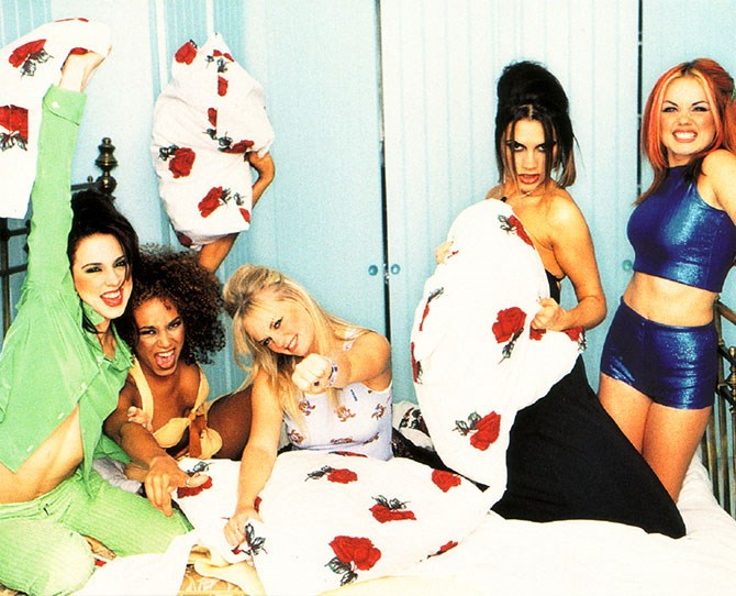In November 1996, their debut album *Spice* was released in Europe. Their success drew Beatlemania comparisons. The album sold 1.8 million copies in 7 weeks, in Britain alone, making the Spice Girls the fastest selling British act since the Beatles.