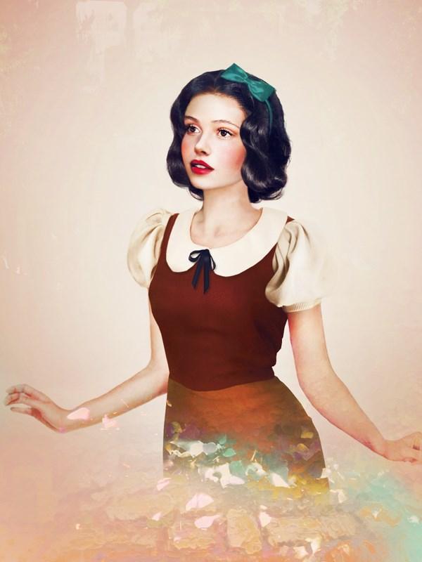 """Snow White, thinking """"K-Stew who?"""""""