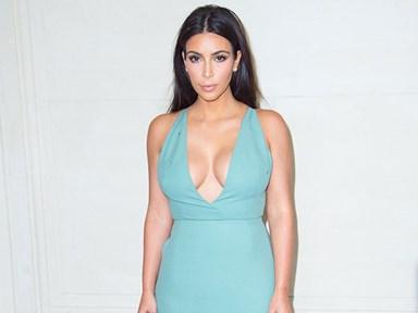Did Kim airbrush herself again?