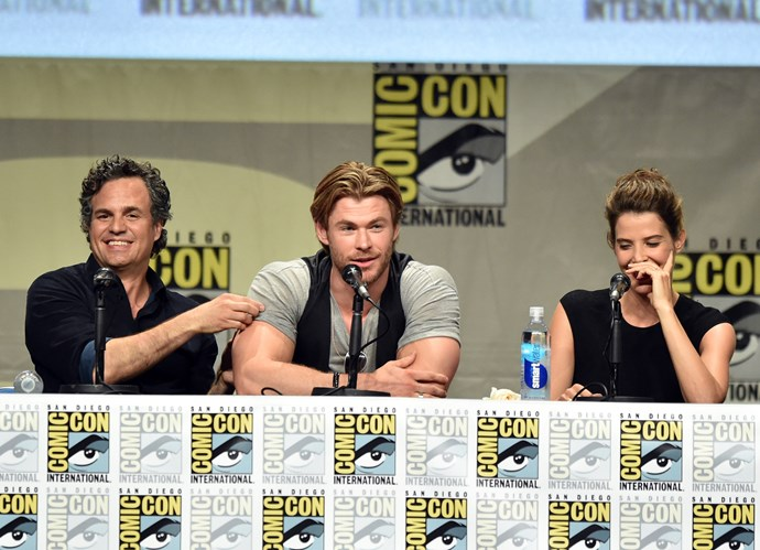 When Mark Ruffalo tried to go back for round two and Chris (and his arms) just ignored his desperate pleas.