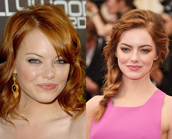 From nondescript face framers to super heroine heights, Emma Stone's brows have grown with her Hollywood A-list status. Don't even get us started on the perfect auburn hue.