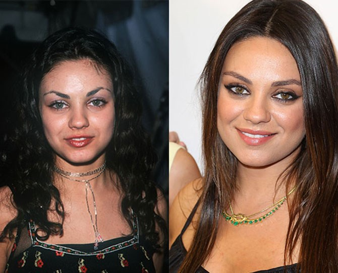 Looks like Mila Kunis was a victim of over-plucking too, so if you're praying every night for your guys to grow, there's clearly hope.