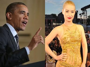 Barack Obama does Fancy