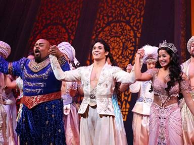 Aladdin on Broadway pays tribute