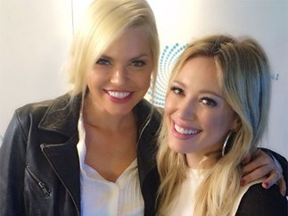 Sophie Monk saved Hilary Duff from a HIT AND RUN