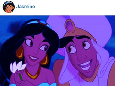 If Disney princesses had Instagram...
