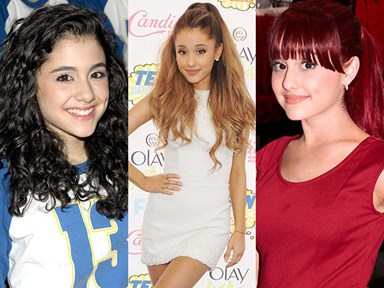 Ariana Grande's epic transformation