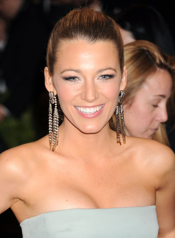 **Blake Lively** Dreamy complexion.
