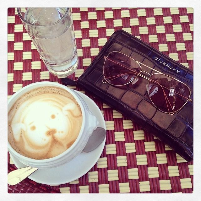 10. We appreciate the same things in life, like coffee art.