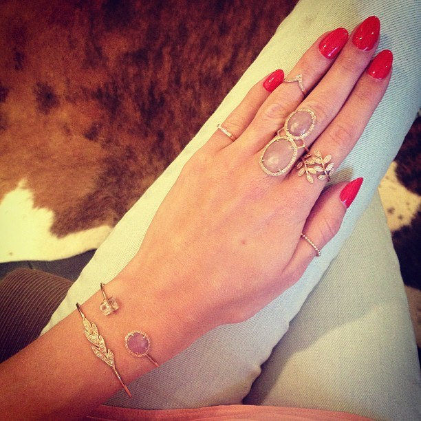 17. Jewellery sets *can* be cool. Note to self: purchase matching cuff and ring.
