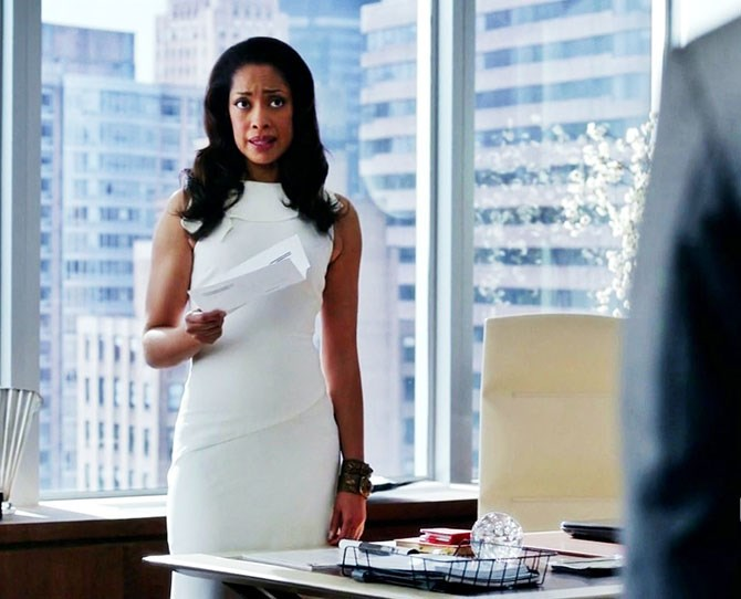 **Jessica Pearson, *Suits*:** She's a bad-ass corporate lawyer, who isn't afraid to break several major laws to protect her firm. She's also got the best 'you're in trouble' face we've ever seen.