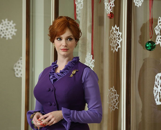 **Joan Holloway, *Mad Men*:** She started as a secretary and worked her way up to PARTNER of Sterling Cooper Draper Pryce. Sure, her name isn't on the door yet, but Joan embodies the can-do attitude of a woman who knows exactly what she wants.