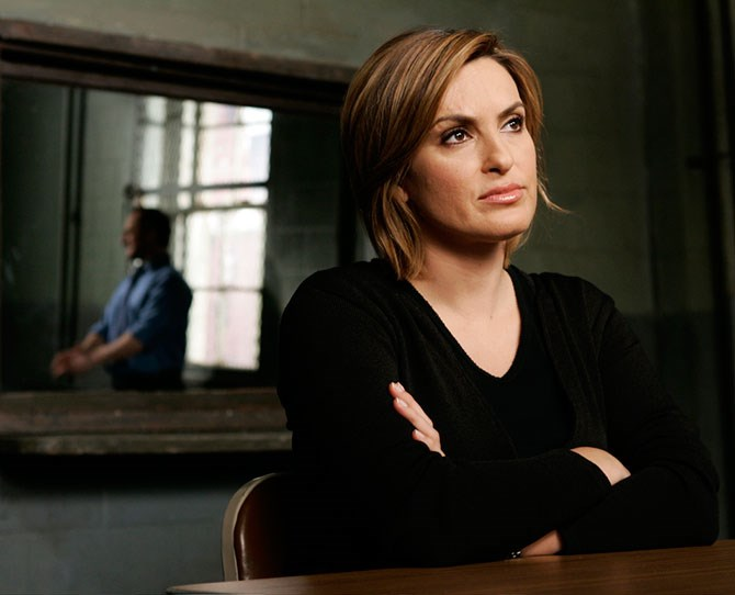 **Olivia Benson, *Law & Order: SVU*:** A good friend makes you feel safe, right? Which is why Olivia's restoring our faith in humanity. One handcuffed lawbreaker at a time.