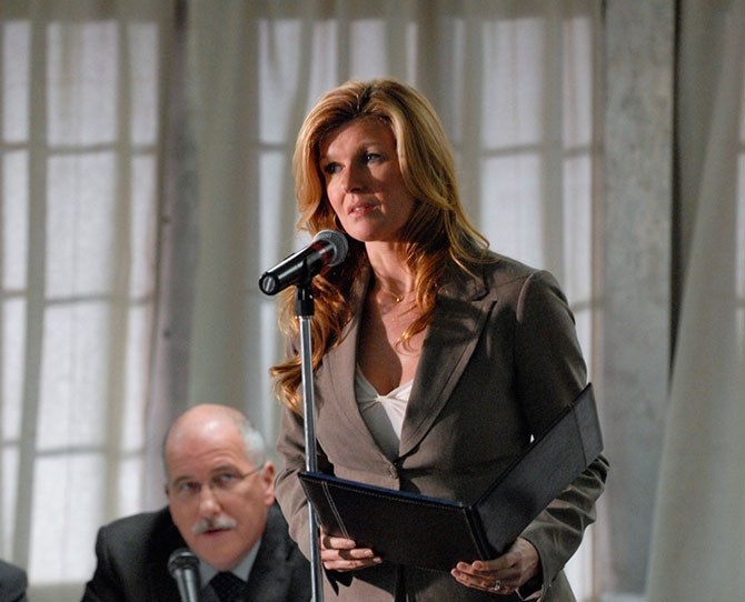 **Tami Taylor,* Friday Night Lights*:** Wouldn't it be nice to have ALL the answers? You can argue that nobody knows *everything* all you want, but it sure as hell feels like Tami's got her shit sorted.