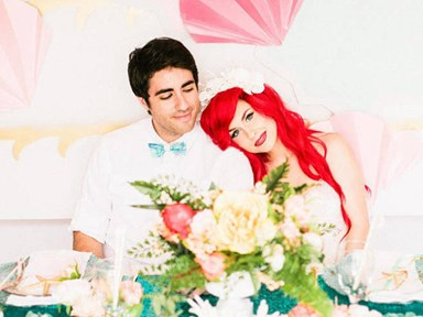 You have to see this Little Mermaid fantasy wedding