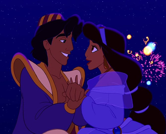 1. Prince Ali – *Aladdin* Cheeky, charming and chiseled - Aladdin is number one on our list of slightly weird crushes on animated characters. Sure, he's a homeless thief who talks to carpets. But nobody's perfect. And have you seen that chest?