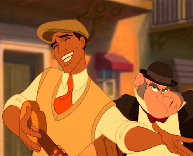 3. Prince Naveen – *The Princess And The Frong* A sexy musician? SOLD.