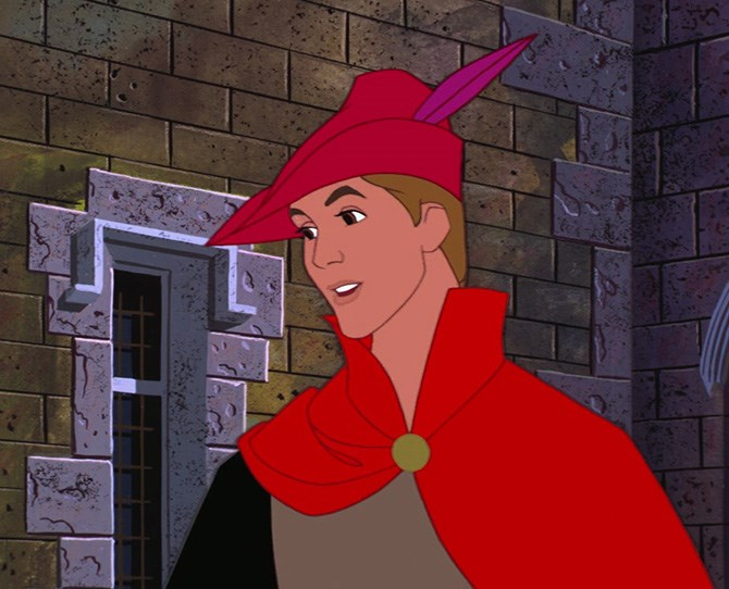 5. Prince Philip – *Sleeping Beauty* Making capes and feathered hats look hot since 1959.