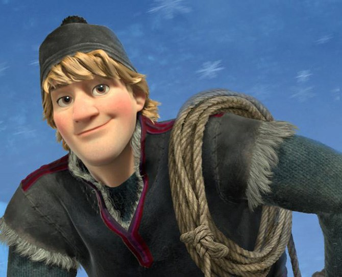 8. Kristoff – *Frozen* Sure, he's not a real prince, but *Frozen* implies he will marry Princess Anna - you do the math. Plus he's a funny guy with an adorable reindeer who will literally walk across ice for you. Win!