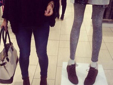Topshop under fire for controversially skinny mannequins