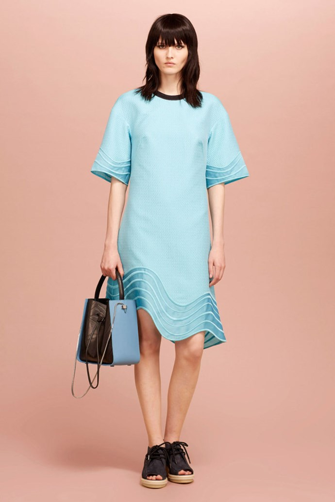 """15.Oversize T-Shirt Dresses **Frank:** Isn't this a muumuu? Either that, or it's a hospital gown from the future.  **Charles:** Oh my god. You are so right. How did I not see that? Very """"I'm here for my check-up Dr. Chic."""" Do you think it ties closed in the back?  **Frank:** I like that one of the few things we agree on here is that this woman looks like she's about to get a very fashionable lobotomy."""