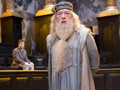 This sexy Dumbledore Halloween costume needs to be acknowledged